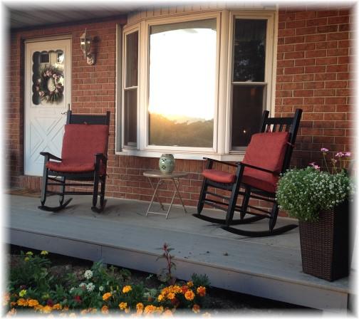 Front porch 9/2/14
