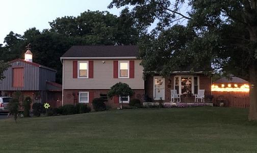 Home at dusk 6/21/20
