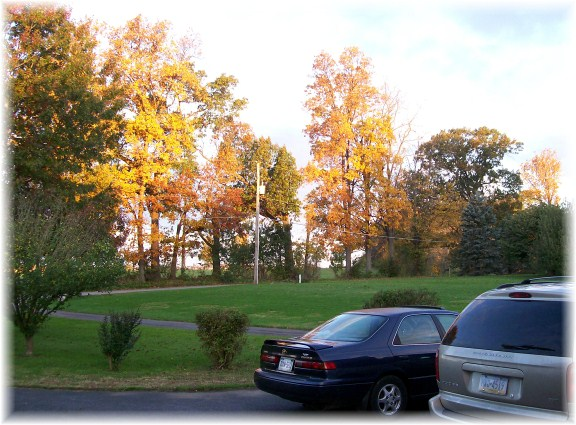 Autumn view, Lancaster County, PA 10/21/11