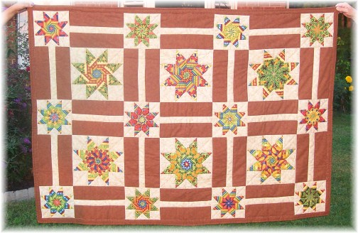 Sister quilt made by Marsha Neizmik