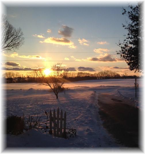 Sunset 1/30/15