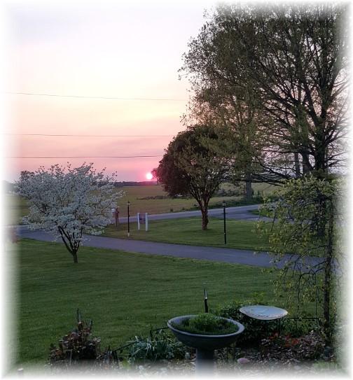 Sunset 5/8/16