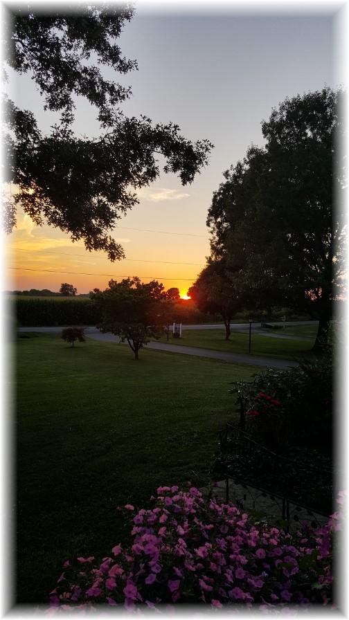 Sunset 7/27/16