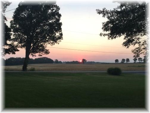 Sunset 8/31/15
