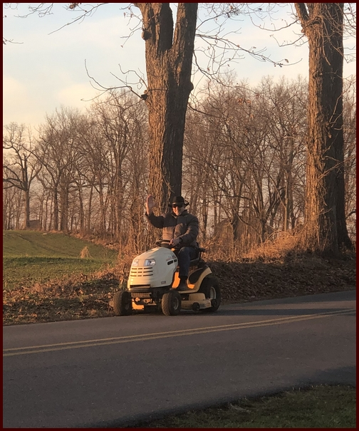 Home from tractor repair 12/19/18