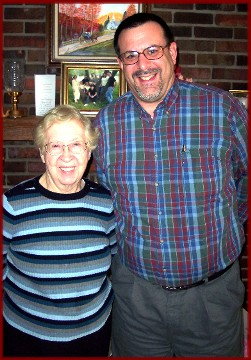 Photo of Sister Howard and me (March 2006)
