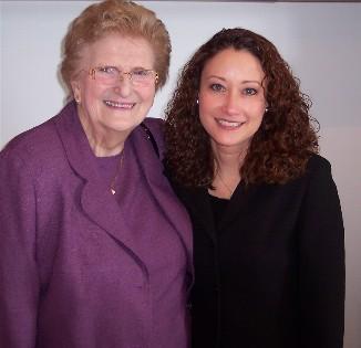 Photo of Huldah Buntain and daughter, Maureen