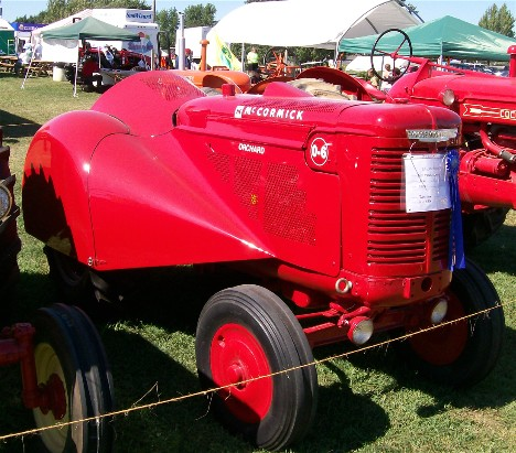 1947 McCormick-Deering orchard tractor