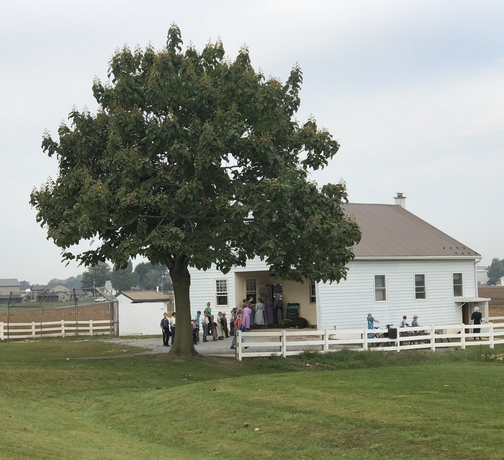 Lancaster County one room schoolhouse