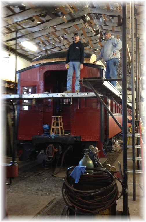 Strasburg Railroad maintenance shop