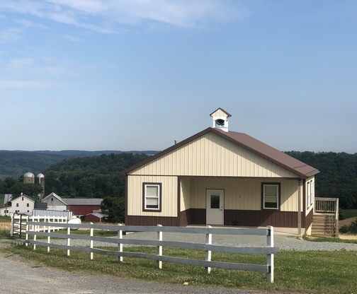 Martic Township Amish schoolhouse