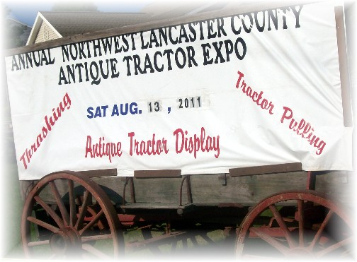 The Northwest Lancaster County Antique Tractor Expo 8/13/11