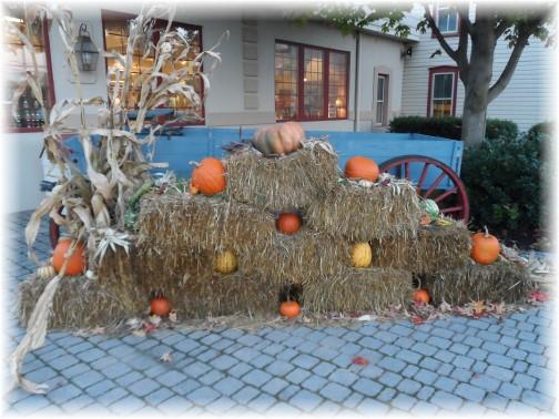 Autumn display at Good and Plenty Restaurant 10/21/13