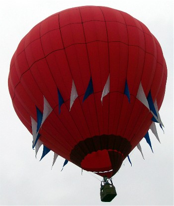 Balloon over Lancaster County