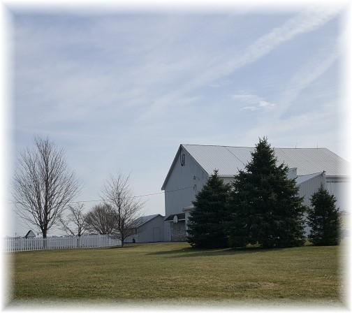Hess barn roof repair 2/28/17