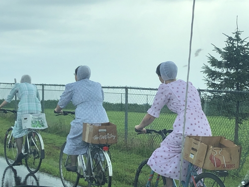 Women on bicycles 7/11/19