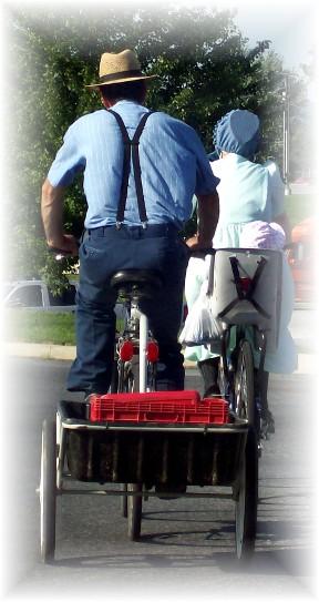Biking family in Lancaster County PA