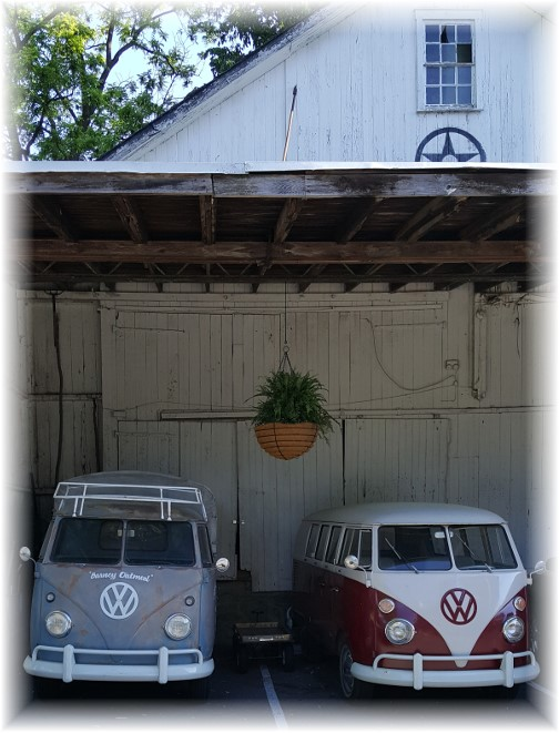 VW vans in Bird in Hand barn 6/1/17