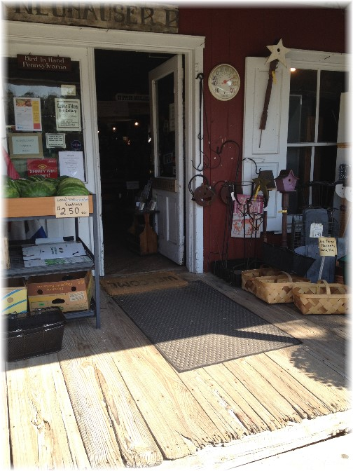 General store in Bird In Hand, PA 9/4/14