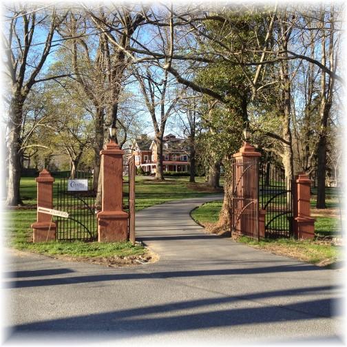 Cameron Estate mansion 4/24/14