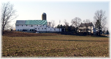 Photo of Lancaster County farm scene