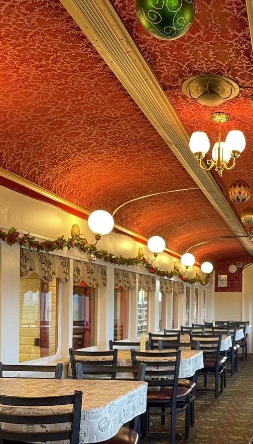 Casey Jones dining room