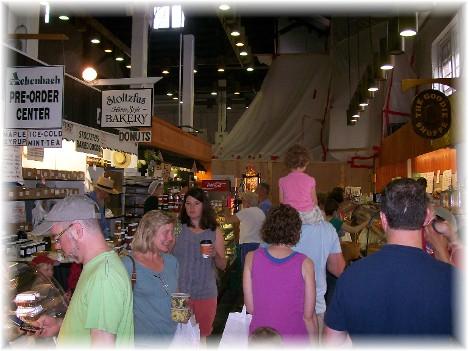 Central Market interior, Lancaster, PA