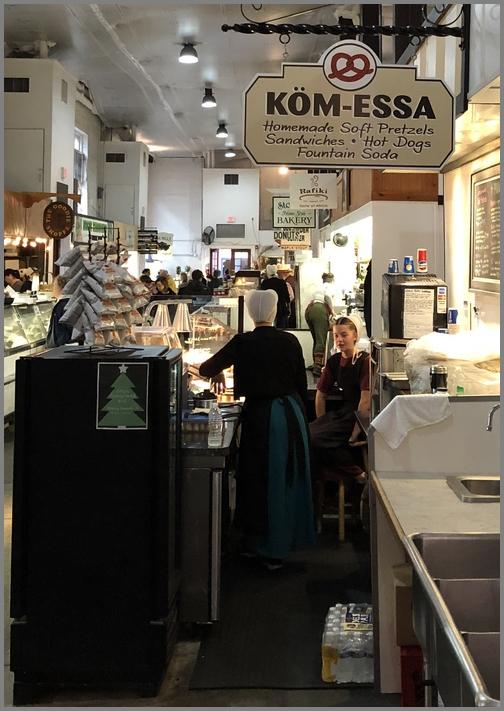 Lancaster Central Market Kom-Essa food stand 12/21/18