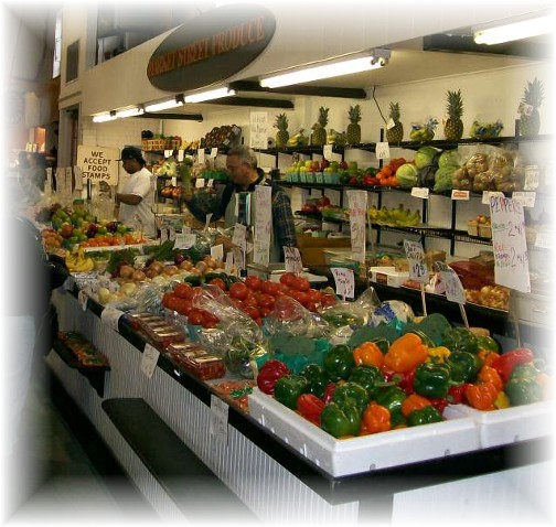 Central Market produce in Lancaster PA