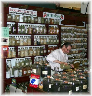 Central Market spices in Lancaster PA