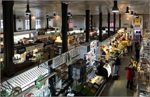 Lancaster Central Market 12/21/18 (Click to enlarge)