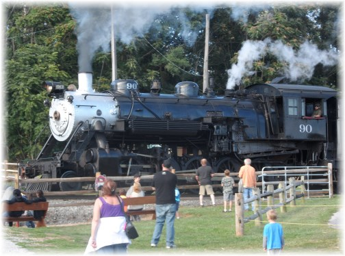 Strasburg steam engine at Cherry Crest 9/14/13