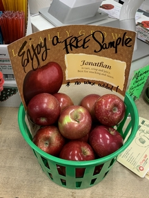 Cherry Hill apples