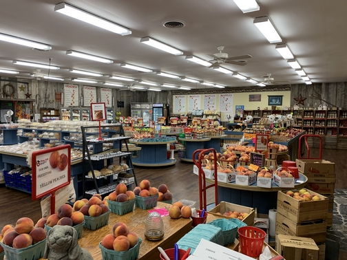 Cherry Hill orchards store 9/6/19