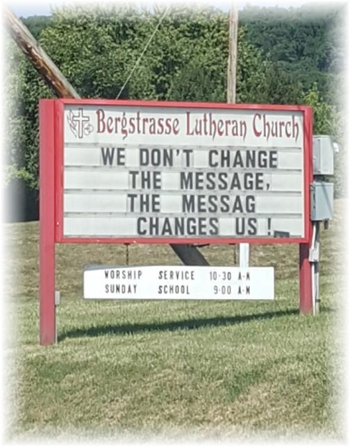 Church sign 9/7/16