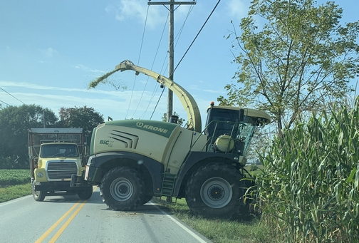 Lancaster County corn harvest 9/4/19
