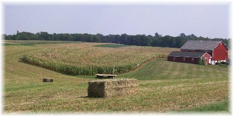 Colebrook Road farm, Lancaster County, PA 8/31/10