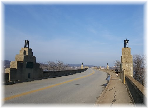 Columbia/Wrightsville bridge 3/27/17