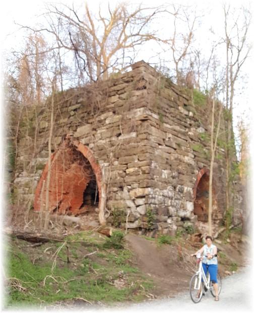 Columbia furnace ruins 4/18/16