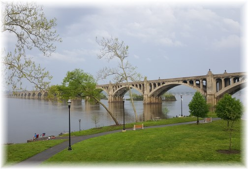 Columbia/Wrightsville Bridge 4/29/17