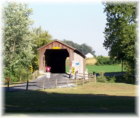Hunsecker's Mill covered bridge, Lancaster County, PA