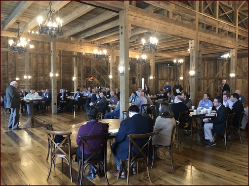 Convene meeting in Star Barn 11/20/18