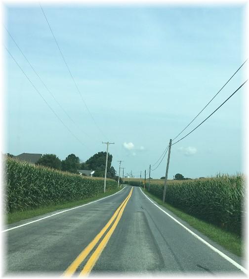 Lancaster County corn canyon 8/27/17