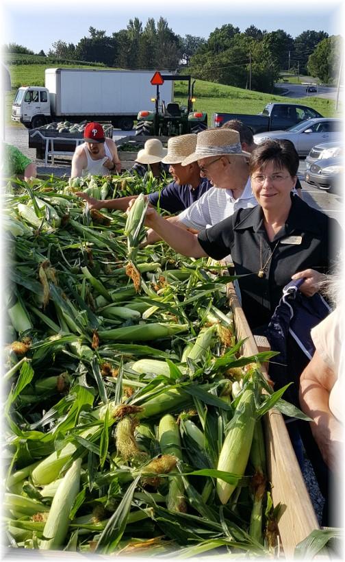 Corn wagon 8/19/16