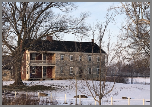 Cramers farmhouse 2/2/19 (Click to enlarge)