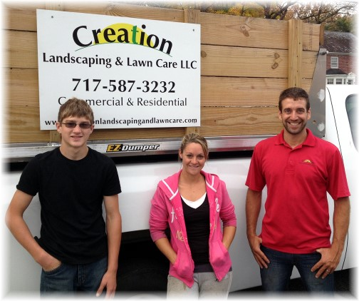 Creation Landscaping team 10/29/14