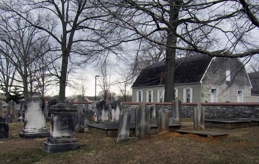 Donegal church cemetery