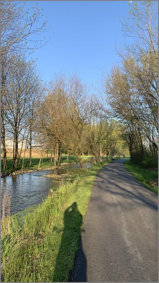 Biking along Donegal Creek 5/3/20