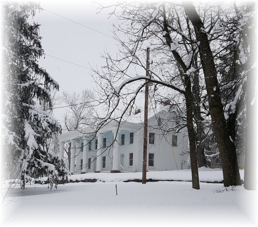 Donegal Mill Plantation, Mount Joy, PA 2/9/16 (Click to enlarge)