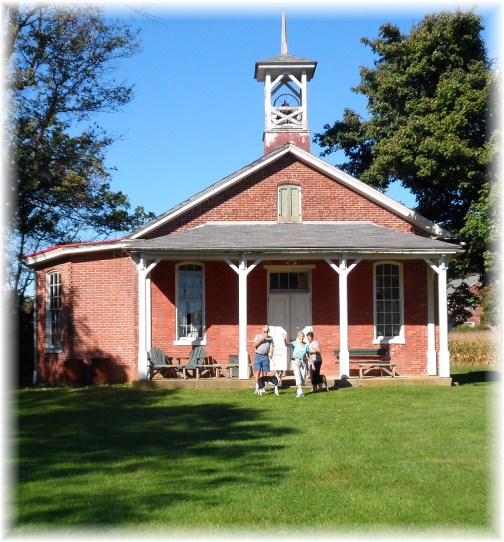Donegal Springs Road one room schoolhouse